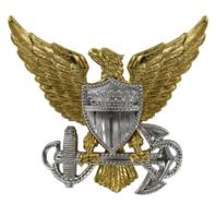 Vanguard COAST GUARD CAP DEVICE: OFFICER - MINIATURE
