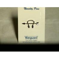 Vanguard Navy Ball Cap Device Pin Sonar Technician ST - Silver