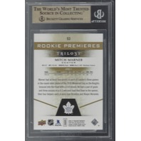 Mitch Marner Toronto Maple Leafs Level 1 Rookie Premiers /999 Graded BGS 9.5