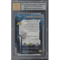Drew Stafford Buffalo Sabres Graded BGS 9 Future Watch Rookie Autograph /999