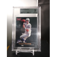 Peyton Manning 1998 Fleer Brilliants #120 Rookie RC BGS 9 MINT Colts Broncos
