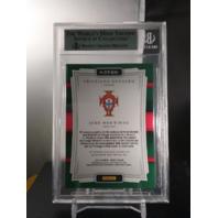 Cristiano Ronaldo Joao Moutinho 2016-17 Select Double Team Memorabilia BGS 9