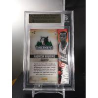 Andrew Wiggins 2014-15 Panini Hot Rookies RC #1 Beckett BGS 9.5 GEM MINT POP=3