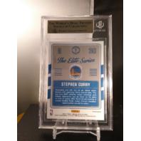 Stephen Curry 2016-17 Donruss Optic Elite Series Blue Prizm /49 BGS 9.5 POP=1