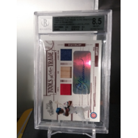 Andre Dawson 2005 Absolute Tools of the Trade /25 Pants Bat Jersey Auto BGS 8.5