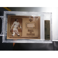Babe Ruth 2001 UD Hall of Famers Game Used Bat Beckett BGS 9.5 GEM MINT POP-1