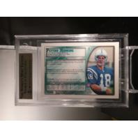 Peyton Manning 1998 Bowman Chrome Rookie RC #1 BGS 9.5 Gem Mint Colts Broncos