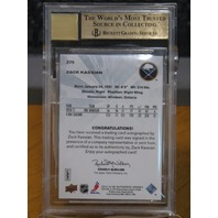 ZACK KASSIAN 2011-12 SP Authentic Future Watch Rookie Auto BGS 9.5 Signed Card