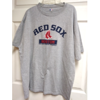 MLB Genuine Boston Red Sox Gray Graphic T-Shirt Men's Size XL Baseball