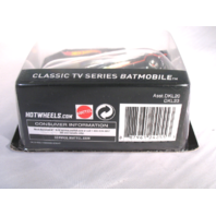 Hot Wheels 2015 Batman 1966 Classic TV Batmobile 1:50 Scale Mattel DKL23