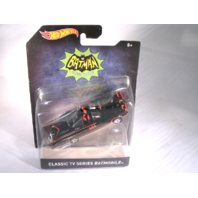 Hot Wheels 2015 Batman 1966 Classic TV Batmobile 1:50 Scale Mattel DKL23