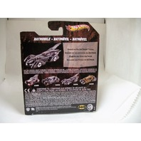 Hot Wheels 2011 Batman Forever Batmobile X4036 1:50 Scale Mattel