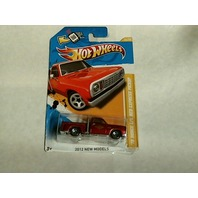 Hot Wheels 2012 New Models 78 Dodge Lil Red Express Pickup Crooked On Card 34/50