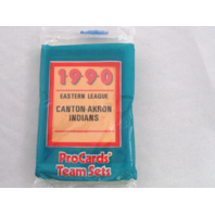 1990 ProCards Canton-Akron Indians Minor League Complete UNOPENED Team Set
