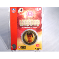JOE GIBBS Washington Redskins Legends 2007 Collectible Medallion Coin