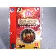 KEN HOUSTON Washington Redskins Legends 2007 Collectible Medallion Coin