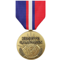 Vanguard Full Size Kosovo Campaign Military Medal Award