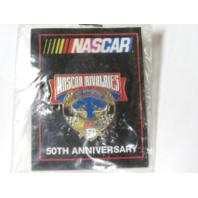 1998 NASCAR 50th Anniversary NASCAR RIVALRIES Lapel Tack Pin NOS NIP