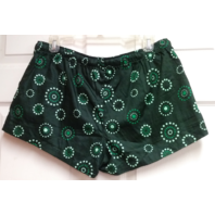 Concepts Sport Oakland Athletics A's Green Shorts Women's Size L MLB Baseball