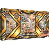 Pokemon TCG Mega Camerupt EX Premium Collection Sealed Box + 2 Random Boosters