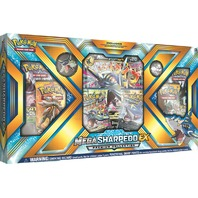 Pokemon TCG Mega Sharpedo EX Premium Collection Sealed Box + 2 Random Boosters