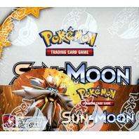 Pokemon TCG XY Sun & Moon Sealed Booster 6 Box Case (English)