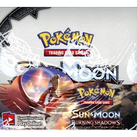 Pokemon TCG XY Sun & Moon Burning Shadows Booster 36 Pack Box (Sealed/English)