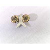 Navy/Coast Guard Coat Device Rear Admiral RDML Lower Half One Star O7 1 Pin