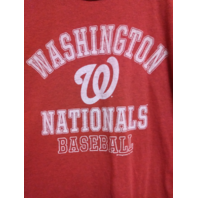 MLB Genuine Washington Nationals Ring Spun Soft Red T-Shirt Size XL Baseball