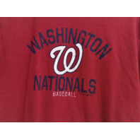 Gear For Sports Washington Nationals Red Graphic T-Shirt Size M Baseball MLB