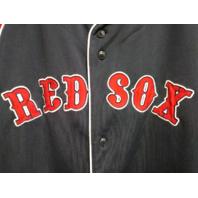 Dynasty BOSTON RED SOX Jersey Shirt Red White Navy Blue Size XL MLB Baseball