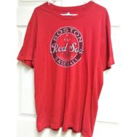 MLB Genuine Boston Red Sox Red Graphic T-Shirt Men's Size XL Baseball