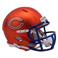 Chicago Bears 2017 Riddell NFL Blaze Alternate Speed Mini Football Helmet