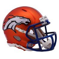 DENVER BRONCOS 2017 Riddell NFL Blaze Alternate Speed Mini Football Helmet