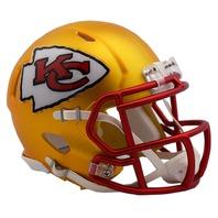 KANSAS CITY CHIEFS 2017 Riddell NFL Blaze Alternate Speed Mini Football Helmet