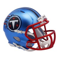 TENNESSEE TITANS 2017 Riddell NFL Blaze Alternate Speed Mini Football Helmet