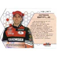 2004 Wheels High Gear High Groove Racing Complete Set #1-27 NASCAR Cards Biffle