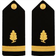 Vanguard Navy Shoulder Board: Ensign Medical Service Female