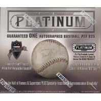 2015 Tristar Autographed Baseball Platinum Edition Box 26 Spot Break
