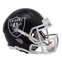 OAKLAND RAIDERS 2017 Riddell NFL Blaze Alternate Speed Mini Football Helmet