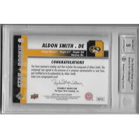 ALDON SMITH 2011 Upper Deck Star Rookie Autograph #139 BGS 9 Mint