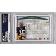 HINES WARD 1998 Topps Draft Picks RC #341 PSA 10 GEM MT Pittsburgh Steelers