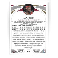 LEBRON JAMES 2004-05 Topps Chrome #23 Cleveland Cavaliers