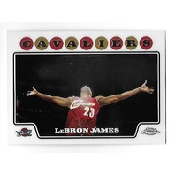 LEBRON JAMES 2008-09 Topps Chrome #23 Cleveland Cavaliers