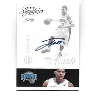 TOBIAS HARRIS 2012-13 Panini Signatures auto/99 Autograph