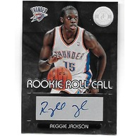 REGGIE JACKSON 2012-13 Panini Totally Certified Rookie Roll Call auto #66 Autograph