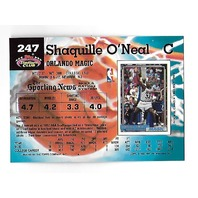SHAQUILLE O'NEAL 1992-93 Topps Stadium Club Rookie RC #247 '92 Draft Pick