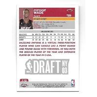 DWYANE WADE 2003-04 Topps Chrome Rookie RC Card #115 Miami Heat