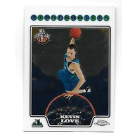 KEVIN LOVE 2008-09 Topps Chrome Rookie RC Card #185 Minnesota Timberwolves