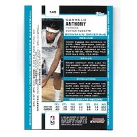 CARMELO ANTHONY 2003-04 Bowman Chrome Rookie RC Card #140 Denver Nuggets